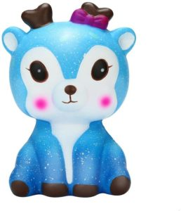 tonsee squishy galaxy deer toy